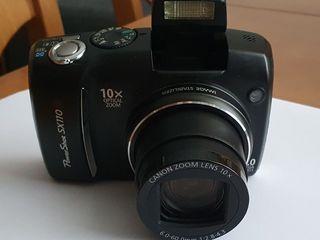 Цифровой фотоаппарат оптический zoom x10 canon powershot sx110 ix