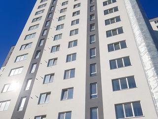 Botanica, etaj 8, bloc nou, 52 m2, living