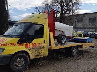 Эвакуатор до 6 тон tractari auto Balti