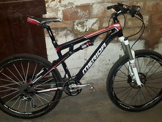 Merida 96 - bicicleta de munte din carbon profesionala pe dubla suspensie