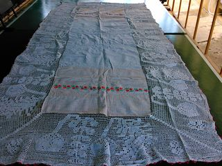 Скатерти молдавские традиционные ручной работы