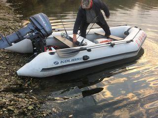Лодка, мотор 8-15 лс, прицеп