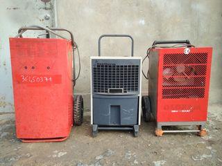 Vindem uscatoare de aer profesionale la mina adoua in stare buna de functionare.