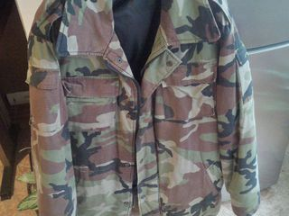 Куртка камуфляжная, б/у