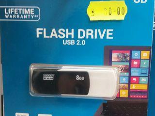 USB-флэшки от 8 GB до 64 GB