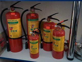 Противопожарное оборудование. Услуги по перезарядке огнетушителей.