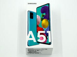 Samsung A51 dual sim 64gb Albastru  !! Nou, cutia sigilata !!!