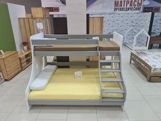 """Хит 2021 года! Двухъярусная кровать """"Stars"""" из натурального дерева! Идеальный вариант для семьи!"""
