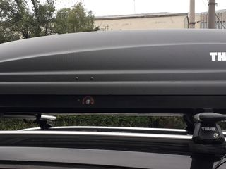 Vand cutie portbagaj Thule auto box cu bare incluse