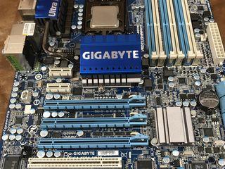 s1366 Gigabyte GA-X58-USB3 + i7-950 в подарок!!! 10 SATA на борту