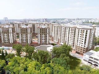 Apartamente cu 1 odaie in noul complex Green Park Residence! la doar 700 euro/ m.p.!