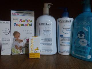 Protectis, bioderma, batista bebelusului