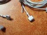 Magsafe, Magsafe2 cable. Кабель для зарядки Макбуков. Cablu Magsafe pentru incarcatorul Macbook.