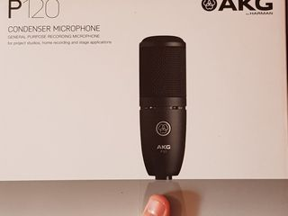 Microfon Studio AKG P-120, Steinberg-UR12