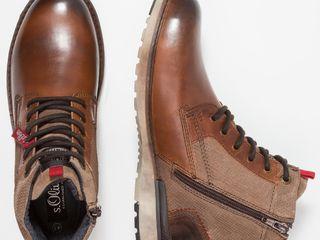 S.Oliver (Germany) ботинки оригинал новые натуральная кожа, на утеплителе 44 размерa