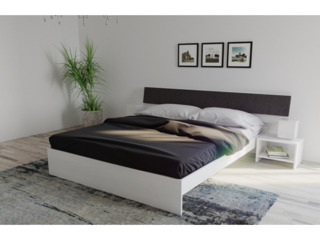 Кровать indart light без прикроватных тумбочек