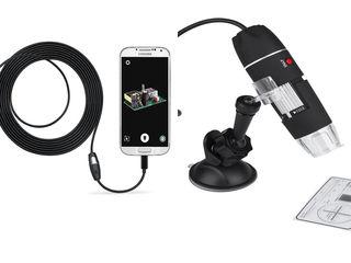 Эндоскоп micro usb,720p,микроскоп usb 0-1600х 2мп