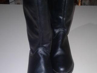 Новые зимние сапоги, высокий подьём, на широкую ногу, 40 - 41 размер.