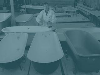 Реставрация ванн, новая технология, срок эксплуатации до 15 лет