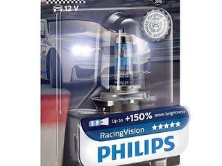 Lampi auto Philips RacingVision (+150%) - H4, H7