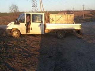 Ofer servicii de transport peste viu. masina este dotato cu doua compresore si chislorod.