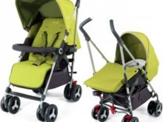 Стильная коляска Silver Cross Reflex от рождения до 4 лет. + вставка для новорожденных.