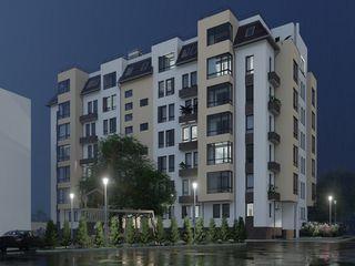 Astercon Grup - apartament cu 1 odaie suprafața 41.77 m2, 620 €/m2, mun.Chișinău, com.Stăuceni