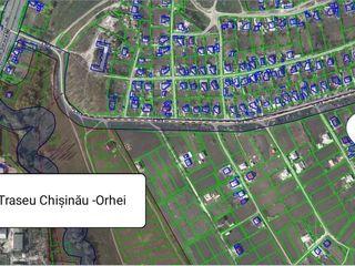 Teren pentru constructie in Peresecina, amplasare super