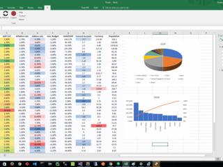 Обработка данных и таблиц в Excel (Prelucrare a datelor si formarea tabeluri de date in Excel)