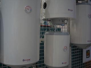 Водонагреватели Tesy, Bosch, Eldom ёмкостью на 10, 30, 50, 80, 100, 120, 150 литров.