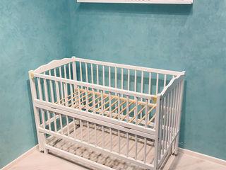Детская кроватка duboc clasic 1 без ящика цвет белый