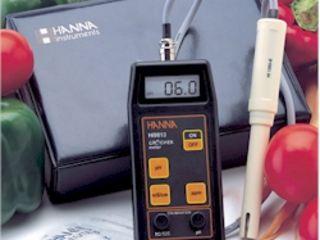 Портативный pH измеритель для садоводов.