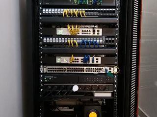 Установка и наладка сервера и серверного оборудования