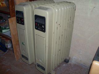 Радиаторы  масляные на колесиках с переключателями на 500 вт.  и  на 1000 вт. б/у.  Отлично греют !!