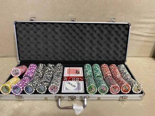 Покерный набор. Poker Set. Пластиковые карты