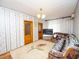 Apartament 3 camere 72 mp Rîșcani! Euroreparație!
