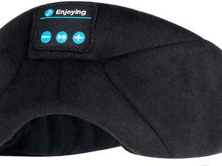 Маска - наушники для сна беспроводные с микрофоном - 300 лей (новые)