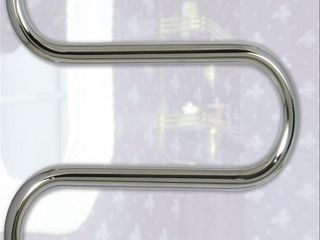 Полотенцесушители из нержавейки для центрального или автономного отопления, разные модели и размеры.