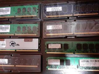 Память для компьютера 1GB - 2GB  DDR2 667 - 800Mhz PC2-6400 240pin