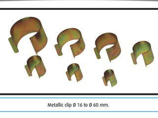 Clame metalice pentru fixarea peliculei pe sera(Producator-Italia)