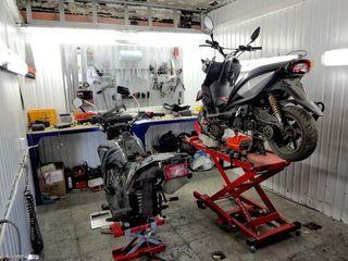 Ремонт скутеров любой сложности.  ( garantie ) ( гарантия )