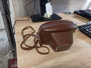 """Кожаный чехол для фотоаппарата """"Киев-15"""""""