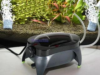 Компрессор для аквариума, регулируемый тихий контроль  Обменяю на рыбу или растения