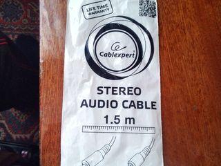 Gembird Audio cable CCA-423, 1.5 m. Новый