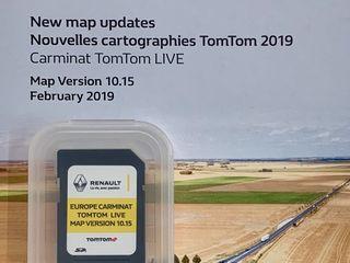 GPS Navigatie RENAULT TomTom Carminat Live - R-Link SD Card Europa 2018-2019 + TURCIA