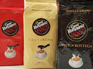 Cafea naturala 100%italia boabe si macinata