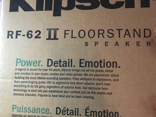 Klipsch rf 62 2 шт новые в упаковке