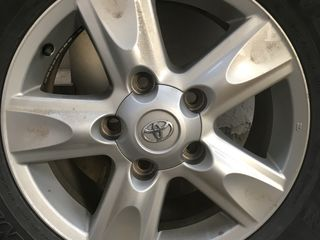 Dunlop Grandtrek AT22 285/60 R18 116V + Диски TOYOTA ORIGINAL