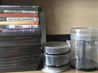 Пустые коробки для дисков