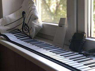 Silicon Piano гибкая клавиатура, цифровое пианино,синтезатор.